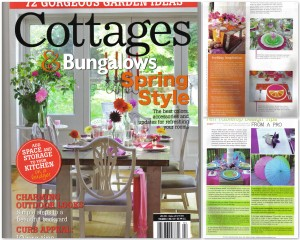 """Cottages & Bungalows"" magazine, April 2013 Issue"