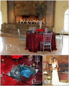 EA Bride Magazine, Winter Issue collage