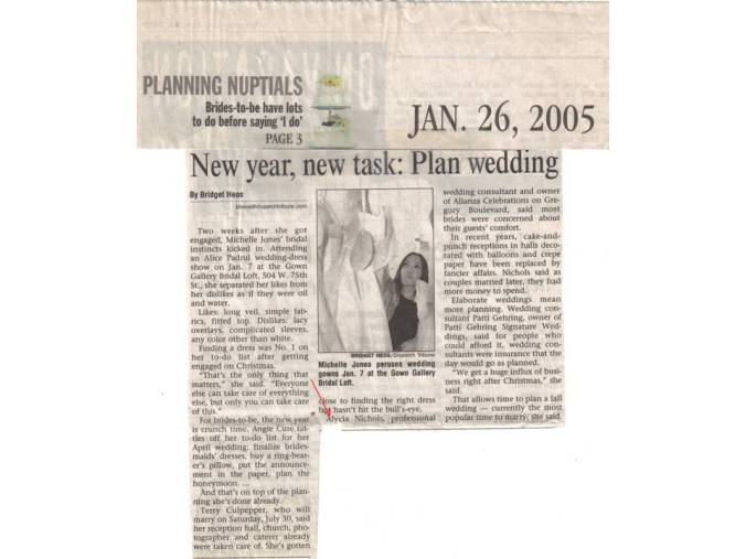 KC Star article - New Year, New Task, 1-26-2005