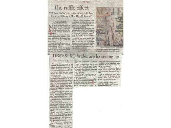 KC Star article - The Ruffle Effect - with arrows