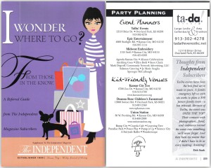 The Independent - Event Planners collage