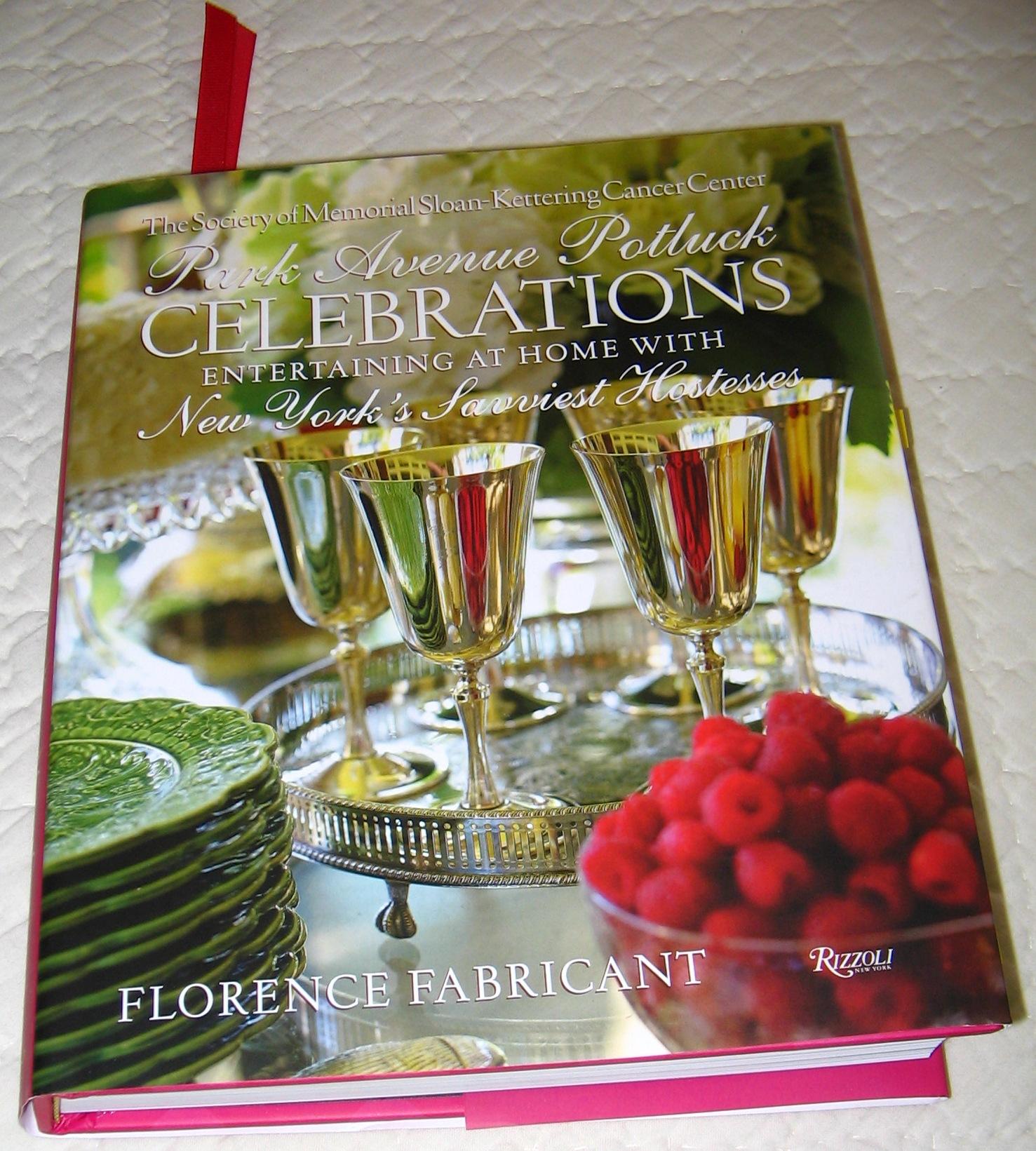Book - Park Avenue Potluck Celebrations