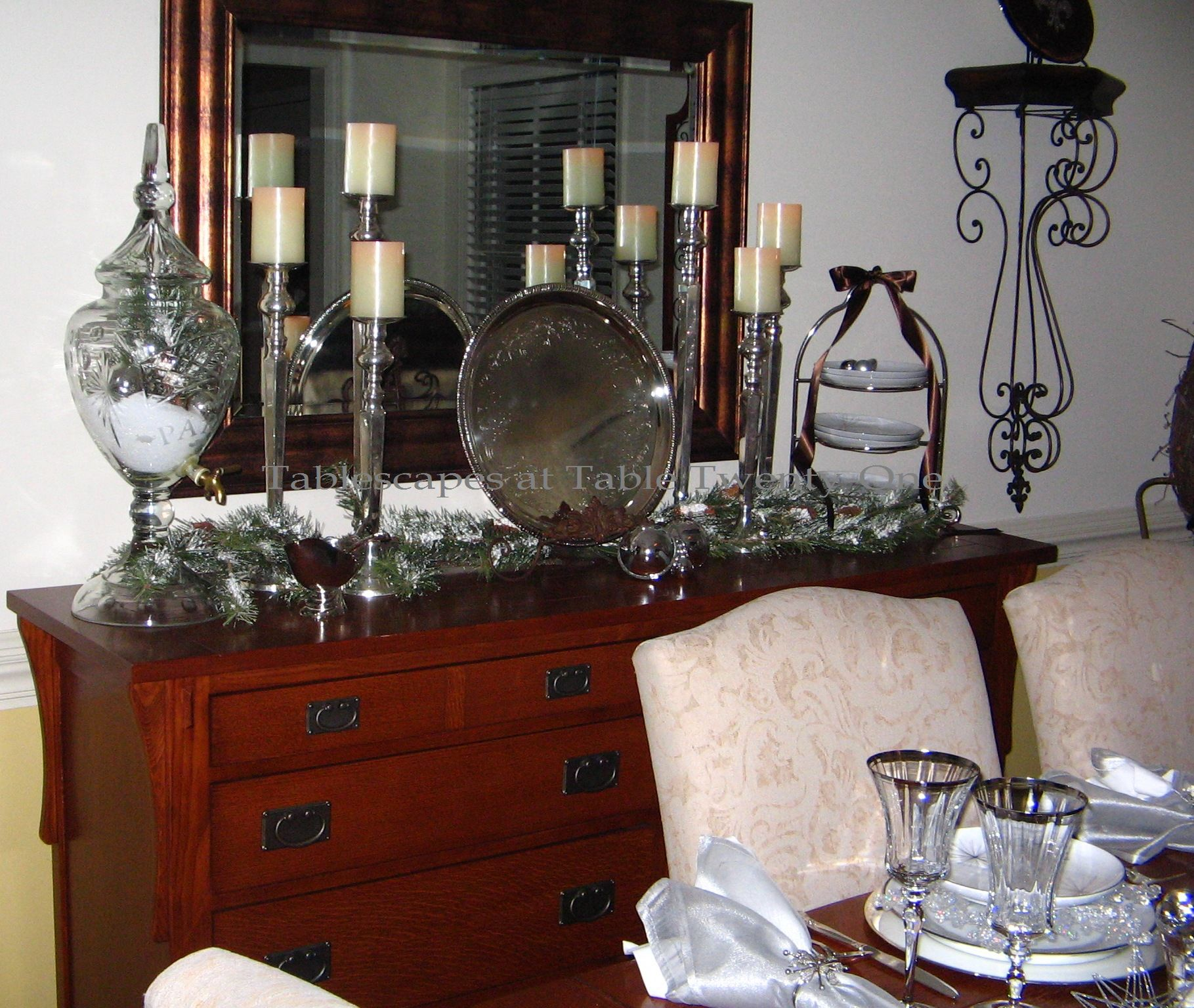 Dining Room Buffet Decor