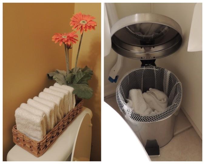 Half Bath Towels collage