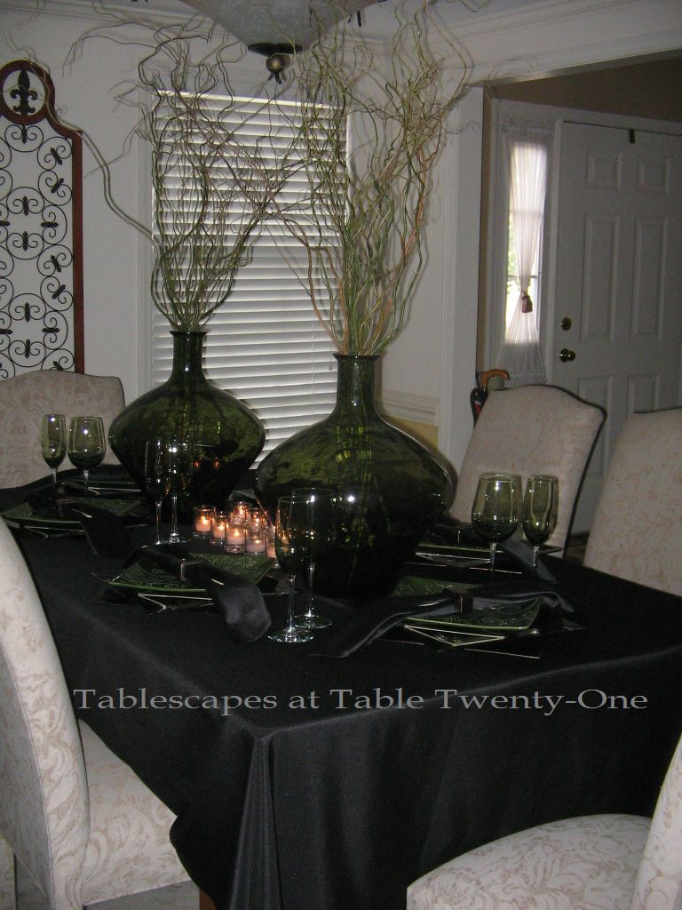 Zen Table Linens | Decoration Pages