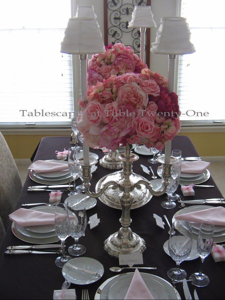 """Chocolate Traditional"" Tablescapes at Table Twenty-One, www.tabletwentyone.wordpress.com"