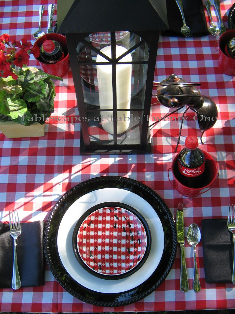 Ants In My Pants Picnic Tablescapes At Table 21