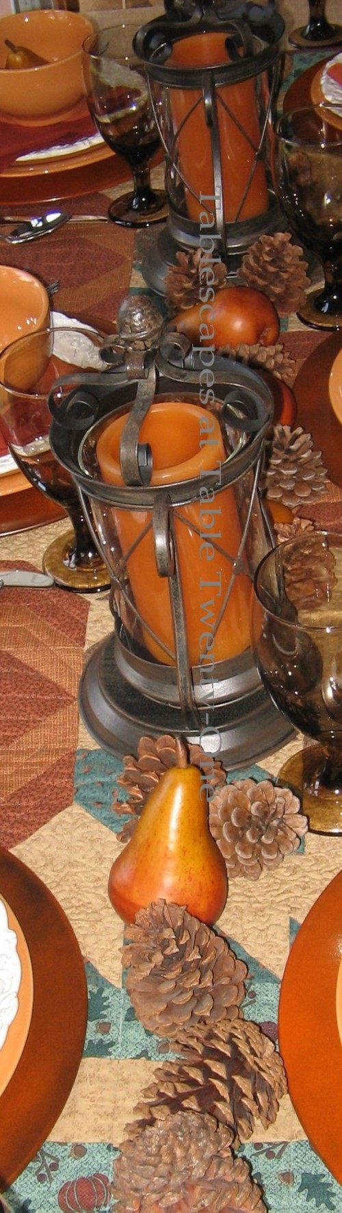 Casual Fall Harvest Dinner Tablescape Tablescapes At