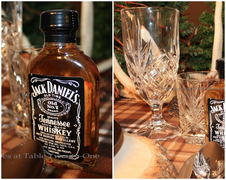 Stemware, Jack Daniels collage