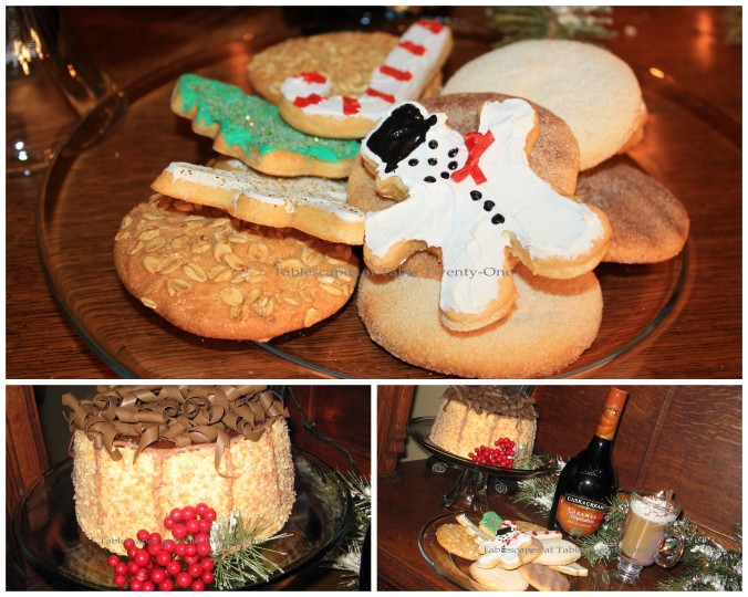 Cake & cookie collage