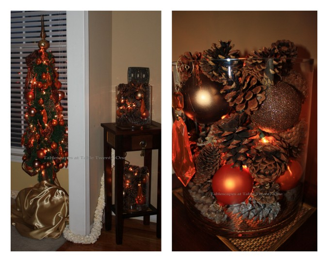 Entry Hall Tiered Arrangement collage