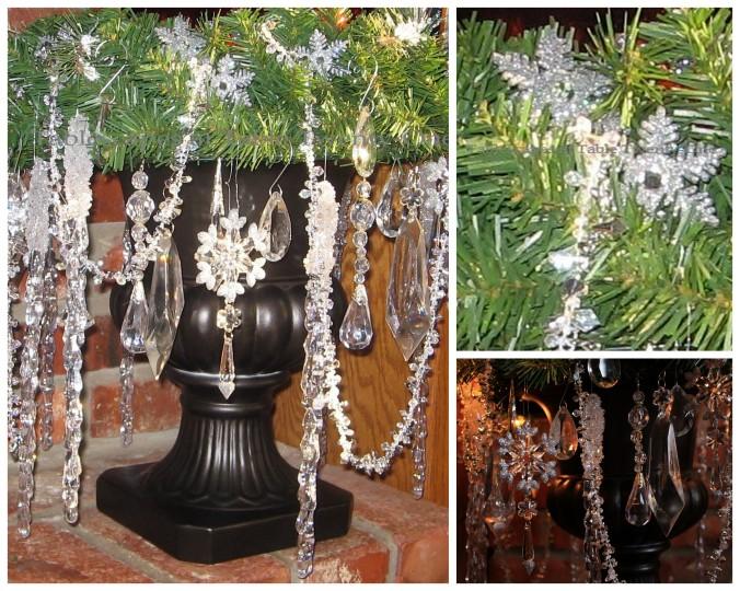 Hearth urn collage
