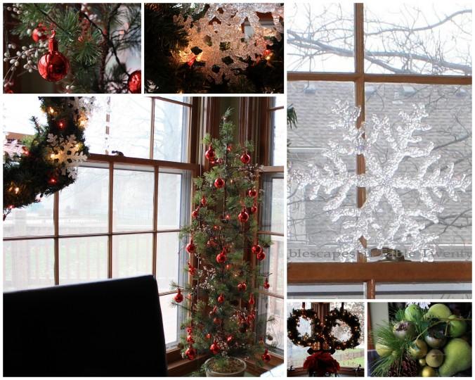 Kitchen decor collage