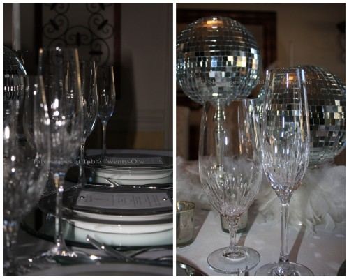 Stemware collage