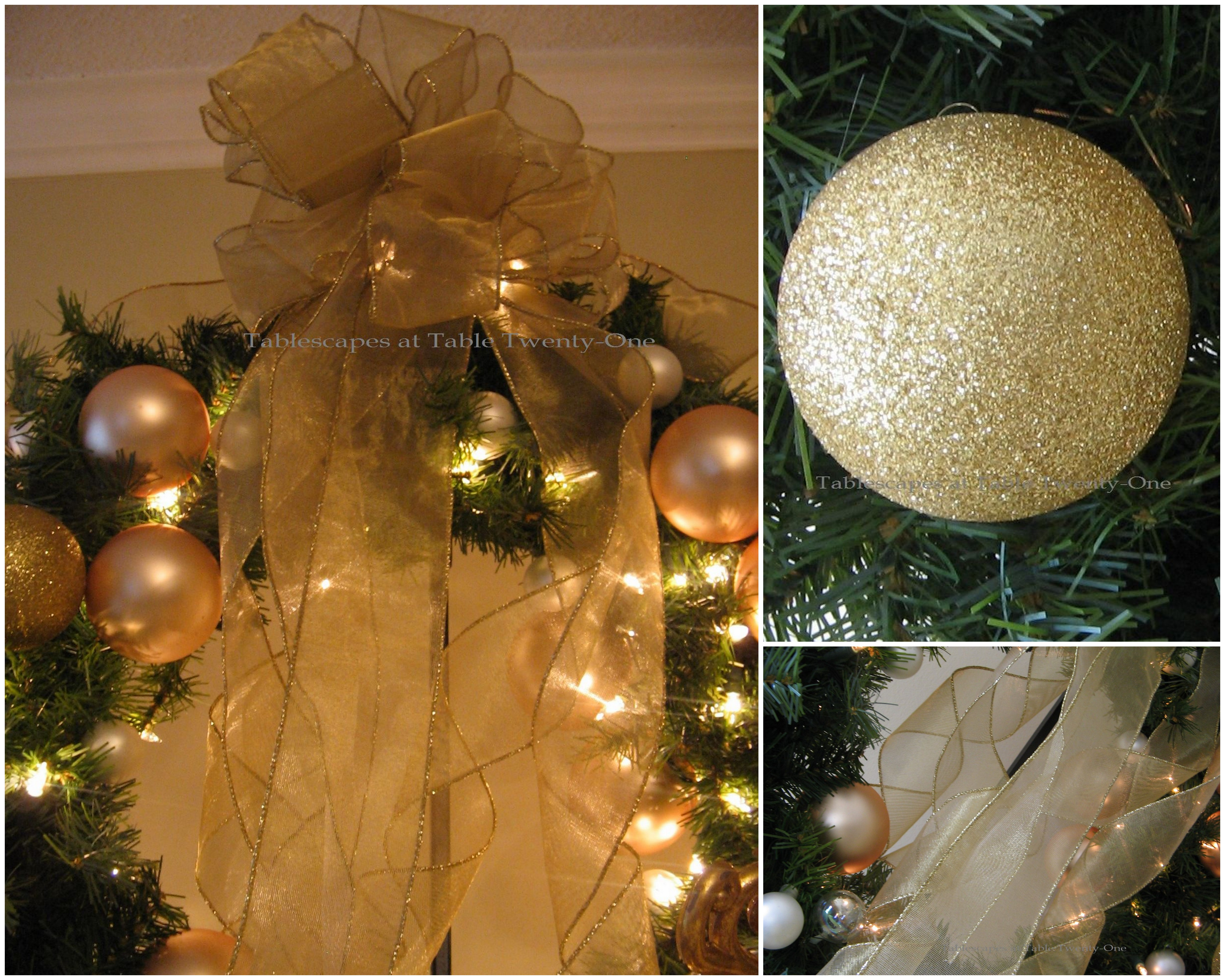 TV Armoire Wreath collage