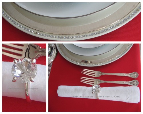 Flatware, Napkin, Rim Shot Collage