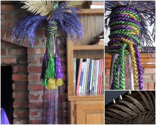 Feather arrangement collage