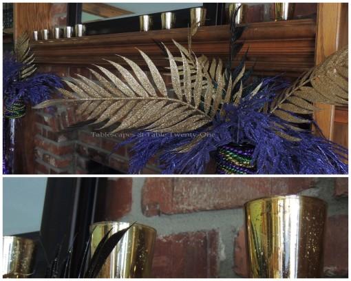 Mantel collage