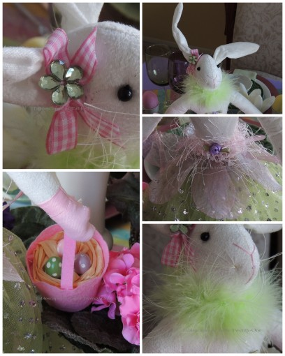 Bunny collage
