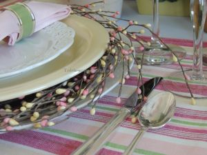 INSPIRATION: Wreaths with pale pink & yellow Easter egg-like beading that I bought 8 years ago and have never used.