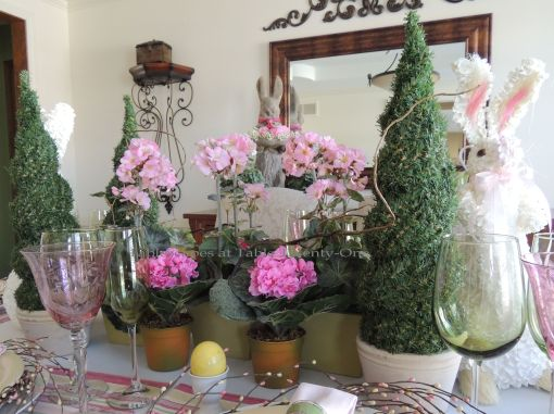 Easter Bloom Tablescapes At Table 21