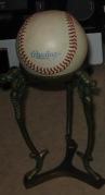 INSPIRATION: A baseball.