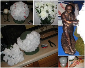 Centerpiece collage