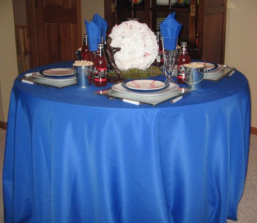Boys of Summer baseball tablescape - Tablescapes at Table Twenty-One
