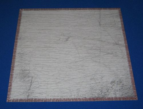 Baseball placemat made with specialty paper from Hobby Lobby - Tablescapes at Table Twenty-One