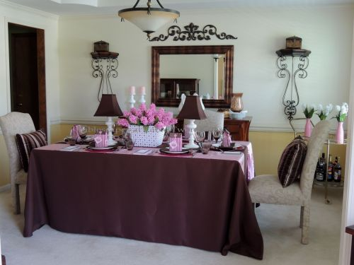 It's All About Me - Tablescapes at Table Twenty-One: Full dining room