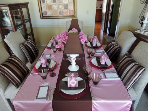 It's All About Me! – Tablescapes at Table Twenty-One: Dining table