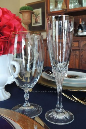 Tablescapes at Table Twenty-One – Lauren in the Library: Stemware