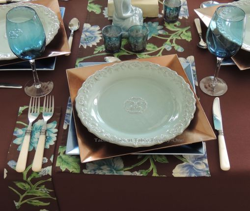 Tablescapes at Table Twenty-One: Float Like a Butterfly