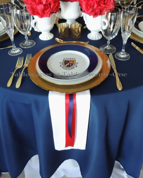 Tablescapes at Table Twenty-One – Lauren in the Library: Place setting