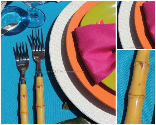 Flatware & rim shot collage