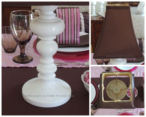 It's All About Me! – Tablescapes at Table Twenty-One: Lamp collage