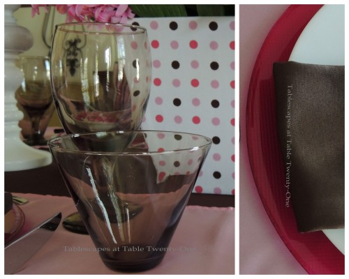 It's All About Me! – Tablescapes at Table Twenty-One: Stemware, rim shot close up collage