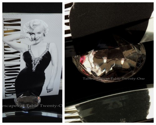 Tablescapes at Table Twenty-One – Diamonds Are a Material Girl's Best Friend: Place card collage