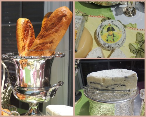 Patisserie de Paris - Tablescapes at Table Twenty-One - Bread & cheese collage