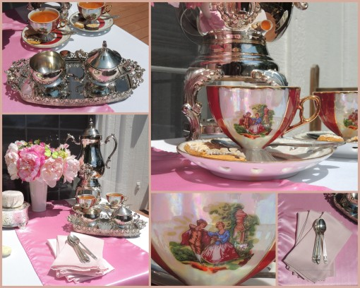 Patisserie de Paris - Tablescapes at Table Twenty-One - Coffee service collage