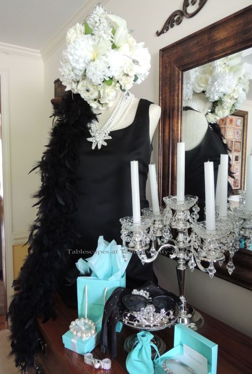 Tablescapes at Table Twenty-One - Breakfast at Tiffany's