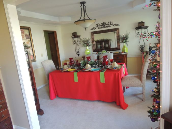 Tablescapes at Table Twenty-One – Christmas Fiesta: Full room