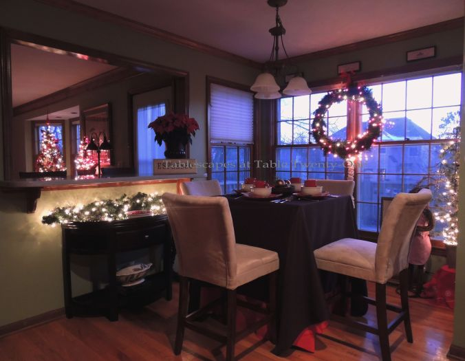 Tablescapes at Table Twenty-One, Christmas Coffee: Full room