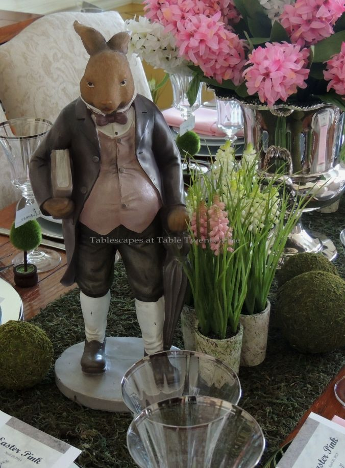 INSPIRATION: This stately-looking bunny rabbit wearing a jacket & vest similar to what I used to wear...minus the pot belly, of course! :-)