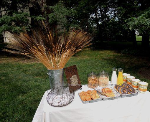 Tablescapes at Table Twenty-One, www.tabletwentyone.wordpress.com, Most Egg-cellent Fall Breakfast: Buffet table