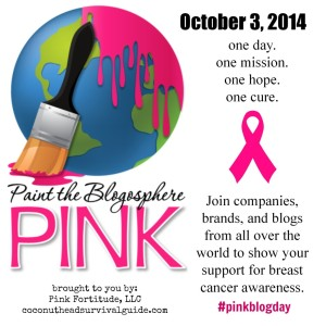 Paint the Blogosphere Pink logo