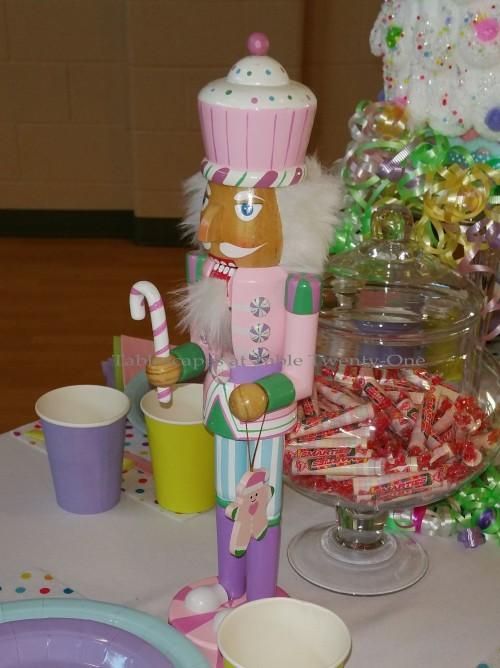 "Alycia Nichols, Tablescapes at Table Twenty-One, www.tabletwentyone.wordpress.com, ""Confectionery Christmas"" – pastel nutcrackers"