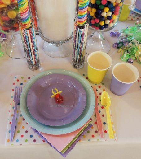 "Alycia Nichols, Tablescapes at Table Twenty-One, www.tabletwentyone.wordpress.com, ""Confectionery Christmas"" – single place setting"