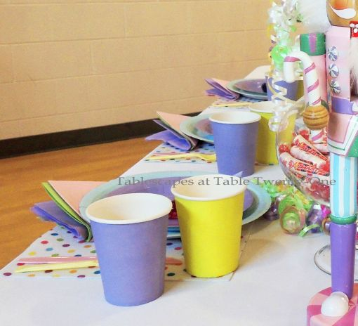 "Alycia Nichols, Tablescapes at Table Twenty-One, www.tabletwentyone.wordpress.com, ""Confectionery Christmas"" – Multiple place settings"