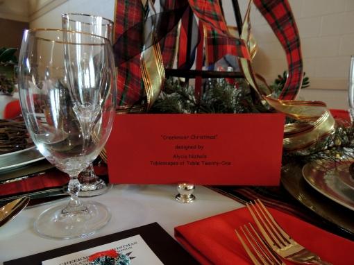 Alycia Nichols, Tablescapes at Table Twenty-One, www.tabletwentyone.wordpress.com, Tartan On the Tee – A Creekmoor Christmas: